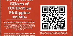 survey on the effects of covid-19 on Philippine MSMEs