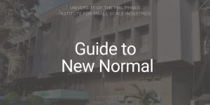 UP ISSI Guide to New Normal_