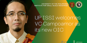UP ISSI welcomes VC Campoamor as its new OIC_01