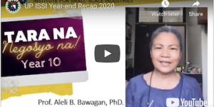 UP ISSI Year-end Recap 2020 copy