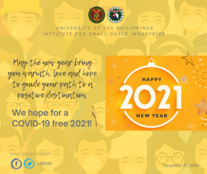 UP ISSI Year-end Recap 2020_december