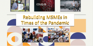 Rebuilding MSMEs in times of the pandemic and beyond