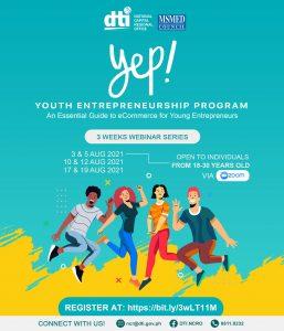 Youth Entrepreneurship Program (YEP) 2021