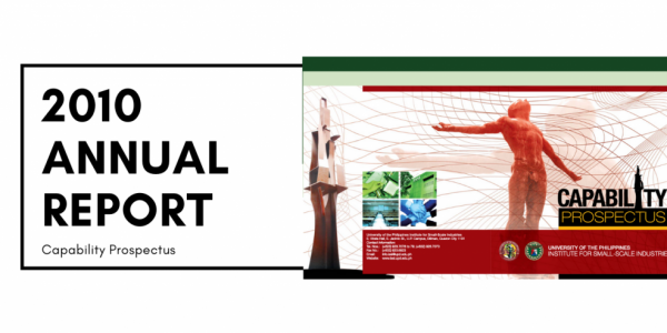 institute for small-scale industries issi 2010 annual report