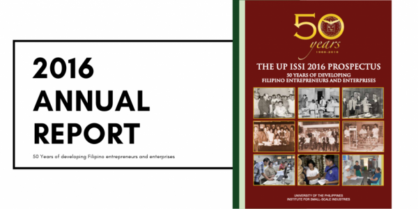 institute for small-scale industries issi 2016 annual report