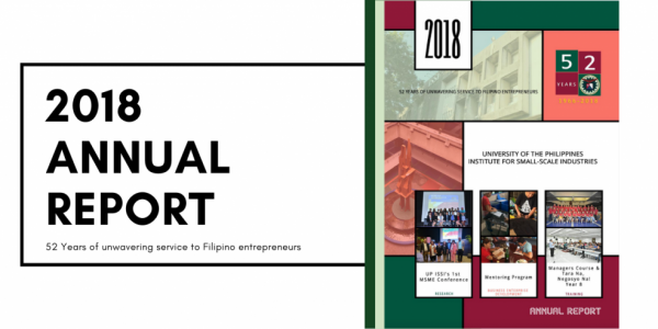 institute for small-scale industries issi 2018 annual report